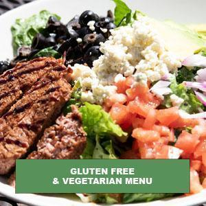 Gluten Free and Vegetarian Menu